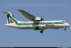 ATR Alitalia Express, I-ATSM, cn first flight Alitalia Express delivered Foto: Pisa, Italy, Atr 72, Pisa Italy, Airplane, Planes, Air Force, Aviation, Aircraft, Commercial, Plane