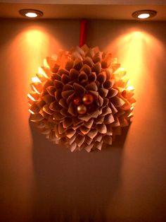 Χριστουγενιατικο στεφανι