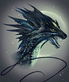 Discover the first French-speaking site on the Dragon Theme, all the resources to know about . Design Dragon, Cool Dragons, Dragons To Draw, Dragon Artwork, Dragon Pictures, Creature Concept, Mythological Creatures, Magical Creatures, Creature Design