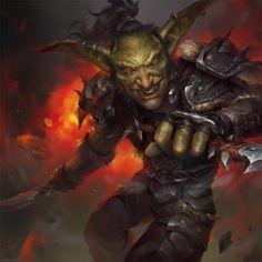 Goblin Rogue by Astri-Lohne on DeviantArt Fantasy Races, Fantasy Rpg, Medieval Fantasy, Dark Fantasy, Warcraft Art, World Of Warcraft, Dnd Characters, Fantasy Characters, Fantasy Character Design