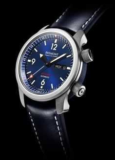 Bremont's U-2 Blue chronometer takes its design cues from a model worn by Israeli armed forces and retails for $5,495