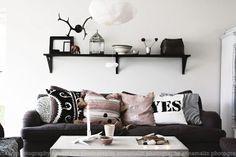 cozy scandinavian living room