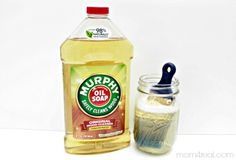 Use Murphys Oil Soap to Clean Paint Brushes