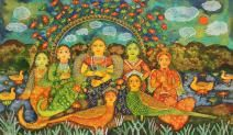 Sanchit Art | Jayasri Burman Paintings | Art | Gallery