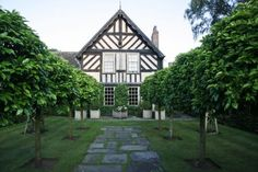 Woollerton Old Hall Garden: photograph by Jane Sebire Clematis, Large Homes, Pathways, Gazebo, To Go, Sidewalk, Home And Garden, Focal Points, Outdoor Structures