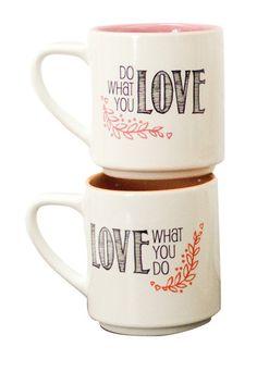 Love Perfect Pair Mug - Set of 2
