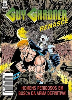 Cover for Guy Gardner Renasce (Editora Abril, 1995 series)