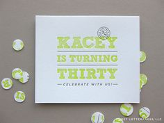 Duet Letterpress: Party inaBox