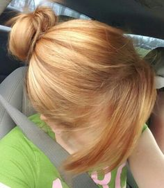 Image result for inverted blonde bob hairstyle strawberry blonde