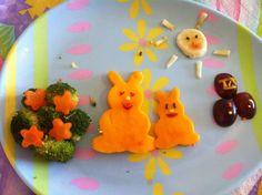 El Lunch de mi Enano: Conejos de Pascua
