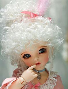 on her way #dolls