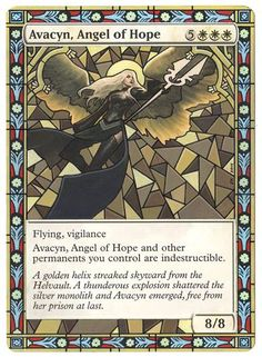Krug Alters: Stained glass Avacyn.