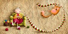 Elina Ellis Illustration: Nimbus in colour! Kids Lighting, Illustrations, Cute Illustration, Cat Art, Whimsical, Kitty, Make It Yourself, Christmas Ornaments, Drawings