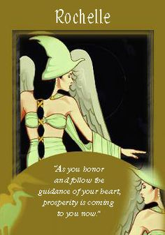 Oracle Card Rochelle | Doreen Virtue | official Angel Therapy Web site