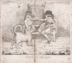 Title: Which is the man Published: [London] : Pubd May 30th 1786 by G. T. Stubbs, Peters Court, St. Martins Lane, [1786]