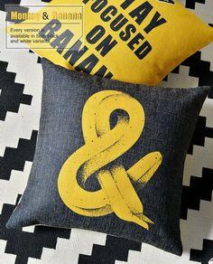 Cute Pop Yellow Pillow Cases