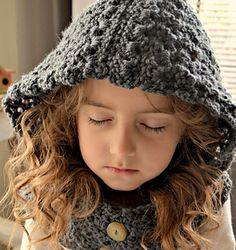 Crochet Hooded Cowl Pattern- Primarose Hooded Cowl Pattern..