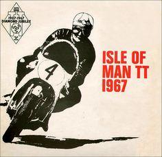 Isle Of Man TT 1967 Mike Hailwood Graphic by bullittmcqueen, via Flickr