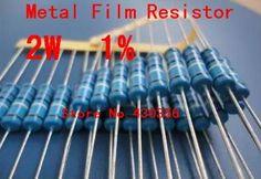 20 stücke 2 Watt Metallschichtwiderstand +-1% 2 Watt 75 ohm 75R CCCCC