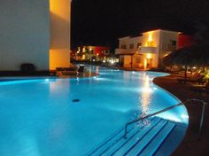 from Trip Advisor, fabulous pic of the pool at night at the Royal Suites Turquesa, my favorite place to be in Punta Cana