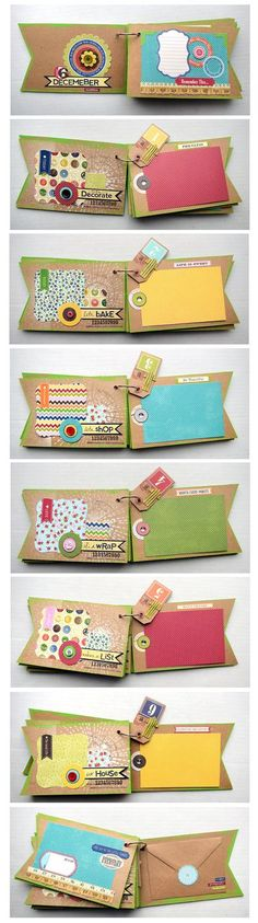 December Daily Pages by Vicki Boutin for Jillybean Soup