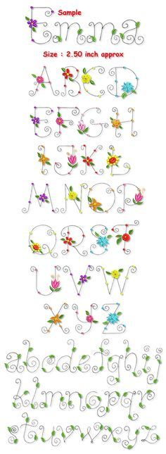 Whimsical lettering | Blossom Whimsical Font Collection