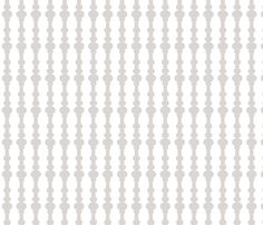 bannisters light grey-ch fabric by ninaribena on Spoonflower - custom fabric