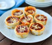Game Day Deep Dish Pizza Cups