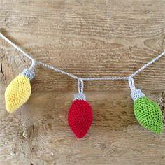 Beautiful Crocheted Garland Patterns