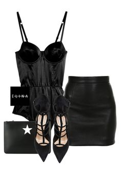 """""""Untitled #1514"""" by elinaxblack on Polyvore featuring Fleur du Mal, Balmain, Givenchy and Barbara Bui"""