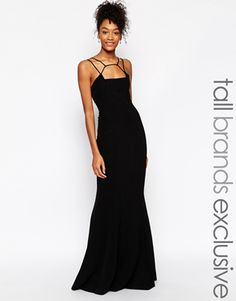 Jarlo Tall Jade Cage Strap Maxi Dress