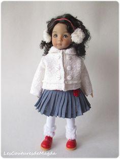 Tenue 5 pièces pour poupée 13 Little Darling by LesCouturesdeMagda