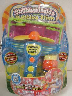 Amazing *  Bubbles Inside Bubbles * Bubble Stick & Premium Solution #Placo