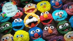 Can you tell me how to get... Sesame Street cupcakes www.facebook.com/youvebeencupcaked