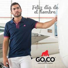 Hoy celebramos el #DíaDelHombre y qué  mejor regalo que una #polo de la nueva colección #GoCoIndia Disponible en tiendas y en www.gococlothing.com. Despachamos a todo Colombia sin costo de envío