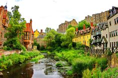 Scotland, Edinburgh, Edimbourg, a walk along the river Leith 87 Dean Village, via Flickr.