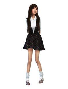 sims 4 korean sim kpop beauty | Sims 4, Sims, Sims 4 gameplayKorean Toddler Cc Sims 4