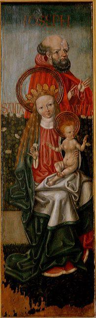 Halberstadt, Sachsen-Anhalt, Dom, Marian painting