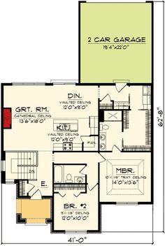 3 Bedroom Craftsman Charmer - 89839AH   1st Floor Master Suite, Butler Walk-in Pantry, CAD Available, Corner Lot, Cottage, Craftsman, European, PDF   Architectural Designs
