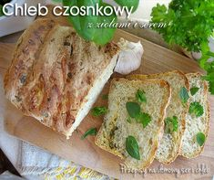 Chleb czosnkowy Bread, Food, Brot, Essen, Baking, Meals, Breads, Buns, Yemek