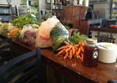 Fresh produce from The Santa Fe Farmer's Market.