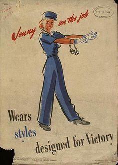 """Jenny on the Job"", 1943"
