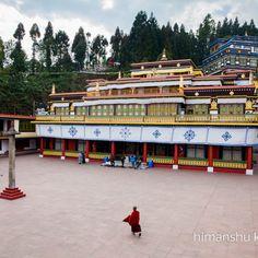 Rumtek Monastery of Gangtok, Sikkim Road Trip from Chandigarh to Nagaland and around India West, Gangtok, West Bengal, Chandigarh, Incredible India, Trip Planning, Road Trip, Asia, The Incredibles