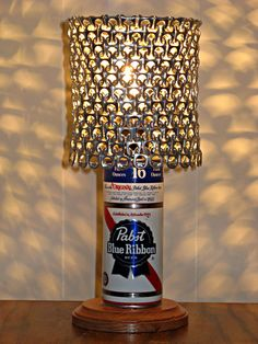1000 images about beer can crafts on pinterest bottle for Diy beer can art