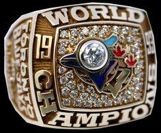 1993 Toronto Blue Jays replica championship rings world series championship ring World Series Rings, Mlb World Series, Baseball Ring, Sports Baseball, Baseball Stuff, Softball, Baseball Cards, Jerseys Nfl, Mlb Teams