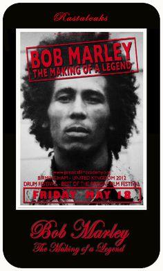 Bob Marley: The Making of a Legend Birmingham Premiere. UK 18 May, 2012 Drum Festival Best of Reggae Film Festival Music Do, Reggae Music, Reggae Bob Marley, Bob Marley Pictures, Marley Family, Jamaica Reggae, Damian Marley, Jah Rastafari, Robert Nesta