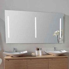 Meuble salle de bain bois blanc