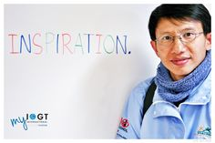 Teera's one word for what IOGT means to him: INSPIRATION