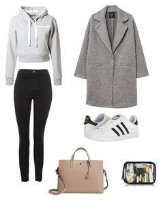 """University Outfits"" by lilyhastings98 on Polyvore featuring moda, Topshop, Natasha Zinko, MANGO, adidas ve Lodis"