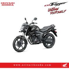 Untame Yourself ' with the new 150cc CBTrigger.best in class mileage of 60kmpl* with advanced combi brakse system(cbs)